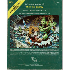 U3 The Final Enemy (jdr AD&D 1ère édition en VO)