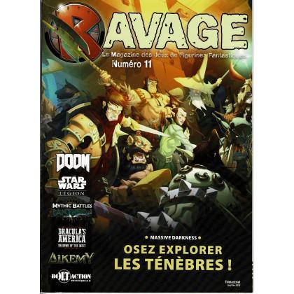 Ravage N° 11 (le Magazine des Jeux de Figurines Fantastiques) 001