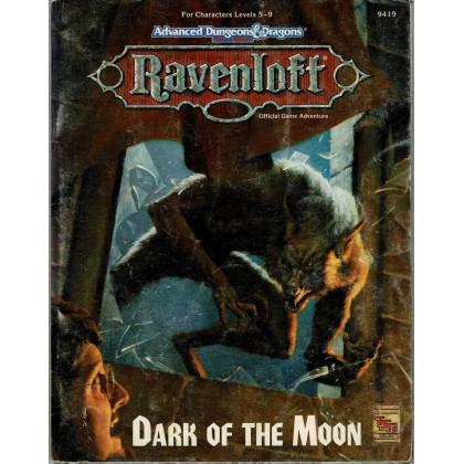 Ravenloft - Dark of the Moon (jdr AD&D 2e édition en VO) 001