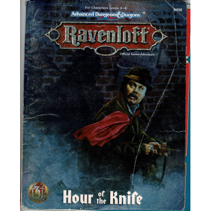 Ravenloft - Hour of the Knife (jdr AD&D 2e édition en VO) 001