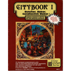 City Book I (jdr tous systèmes medfan en VO)