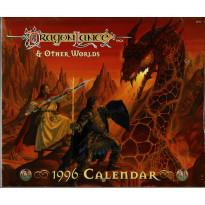 Dragonlance Saga & Other Worlds - 1996 Calendar (caledrier Dragonlance en VO)