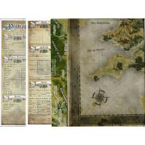 Lot Accessoires de jeu (jdr Pendragon 3e édition en VF)