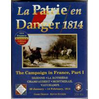 La Patrie en Danger 1814 (wargame OSG en VO)