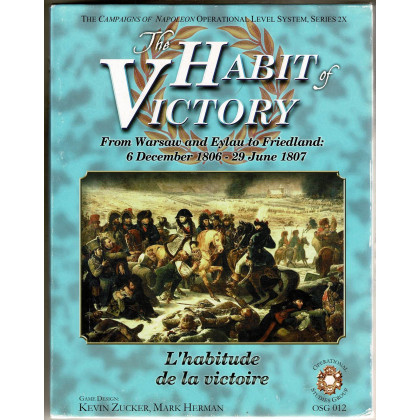 The Habit of Victory 1807 (wargame OSG en VO) 001