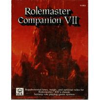 Rolemaster Companion VII (jdr Rolemaster en VO)