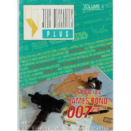 Jeux Descartes Plus Volume 4 - Spécial James Bond 007 (magazine Jeux Descartes en VF) 003