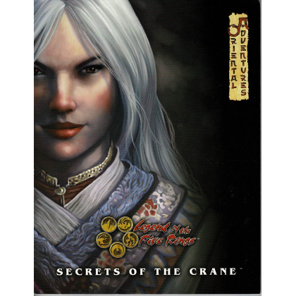 Secrets of the Crane - Oriental Adventures (jdr Legend of the Five Rings L5R en VO) 001