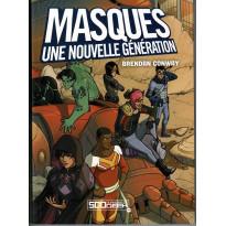 Masques - Une Nouvelle Génération - Le jeu de rôle (jdr 500 Nuances de Geek en VF)