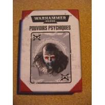 Pouvoirs Psychiques - Boîte de 50 cartes (jeu figurines Warhammer 40,000 en VF)