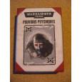 Pouvoirs Psychiques - Boîte de 50 cartes (jeu figurines Warhammer 40,000 en VF) 001