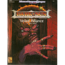DSR3 Veiled Alliance (jdr Dark Sun - AD&D 2nd édition en VO)