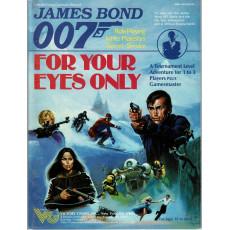 For your Eyes Only (James Bond 007 Rpg en VO)