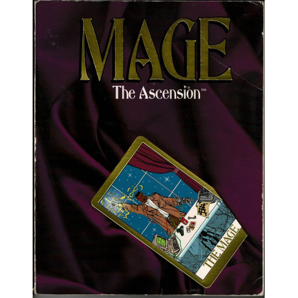 Mage The Ascension - Livre de base (jdr 1ère édition en VO) 003