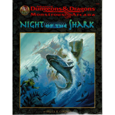 Night of the Shark (jdr AD&D 2e édition révisée en VO)