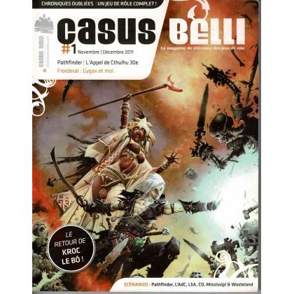 Casus Belli N° 1 (magazine de jeux de rôle - Editions BBE) 005