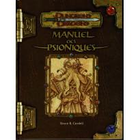 Manuel des Psioniques (jdr Dungeons & Dragons 3.0 en VF)