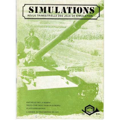 Simulations N° 10 - Revue trimestrielle des jeux de simulation (revue Cornejo wargames en VF) 002