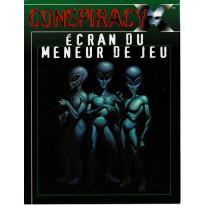 Conspiracy X - Ecran du Meneur de Jeu (jdr de Multisim en VF) 001