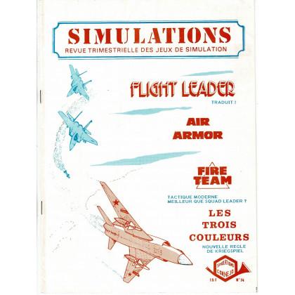 Simulations N° 14 - Revue trimestrielle des jeux de simulation (revue Cornejo wargames en VF) 001