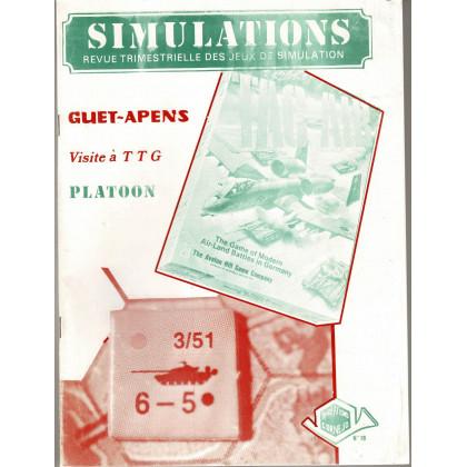 Simulations N° 16 - Revue trimestrielle des jeux de simulation (revue Cornejo wargames en VF) 001