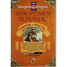 AC1010 Poor Wizard's Almanac & Book of Facts (jdr D&D 1ère édition en VO)