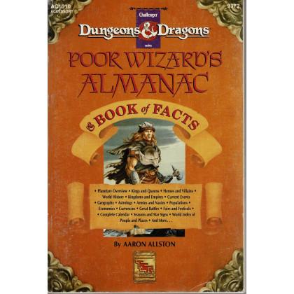 AC1010 Poor Wizard's Almanac & Book of Facts (jdr D&D 1ère édition en VO) 001