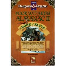 AC1011 Poor Wizard's Almanac II & Book of Facts (jdr D&D 1ère édition en VO)
