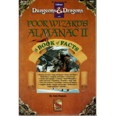 AC1011 Poor Wizard's Almanac II & Book of Facts (jdr Mystara - D&D 1ère édition en VO)