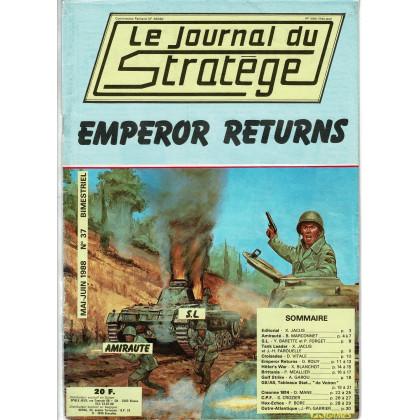 Le Journal du Stratège N° 37 (revue de jeux d'histoire & de wargames) 002
