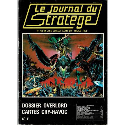 Le Journal du Stratège N° 43-44 (revue de jeux d'histoire & de wargames) 001