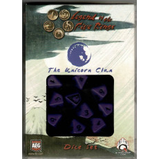 The Unicorn Clan Dice Set (jdr Legend of the Five Rings L5R en VO)