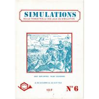 Simulations N° 6 - Revue trimestrielle des jeux de simulation (revue Cornejo wargames en VF)