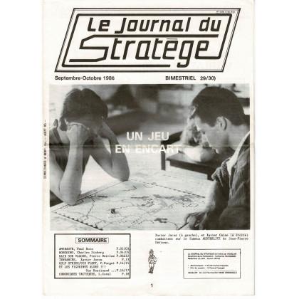 Le Journal du Stratège N° 29-30 (revue de jeux d'histoire & de wargames) 002