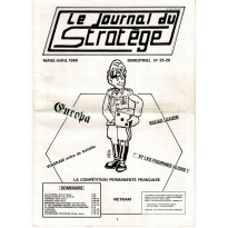 Le Journal du Stratège N° 25-26 (revue de jeux d'histoire & de wargames)