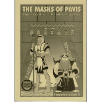 Pavis & Big Rubble Companion Vol. II - The Masks of Pavis (jdr Glorantha en VO)