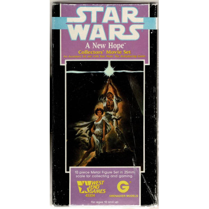 A New Hope - Collector's Movie Set (figurines jdr Star Wars D6 en VO) 001