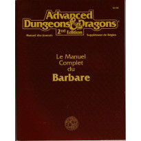 Le Manuel Complet du Barbare (jdr AD&D 2e édition en VF)