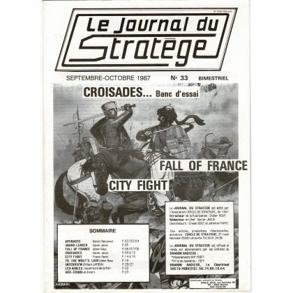 Le Journal du Stratège N° 33 (revue de jeux d'histoire & de wargames) 002