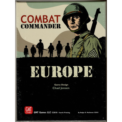 Combat Commander Europe - Fourth Printing de 2018 (wargame GMT en VO) 001