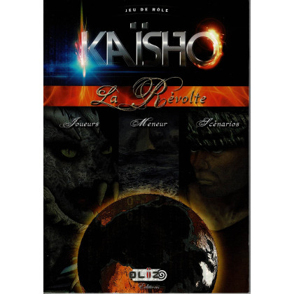 Kaïsho La Révolte - Livre de base (jdr Oliz Editions en VF) 002