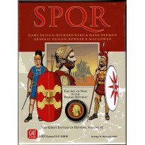 SPQR Deluxe - Second Edition de 2018 (wargame GMT en VO)