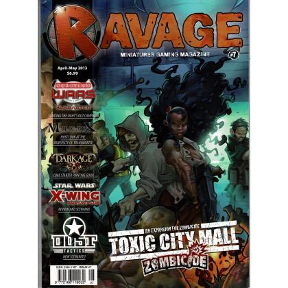 Ravage N° 7 (le Magazine des Jeux de Figurines Fantastiques en VO) 001