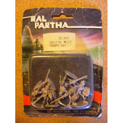 Skeletal Melee Troops (blister de figurines Fantasy Ral Partha) 001