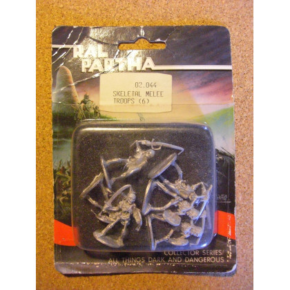 Skeletal Melee Troops (blister de figurines Fantasy Ral Partha) 002