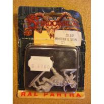 Minotaur & Satyr (blister de figurines Shadowrun Ral Partha)