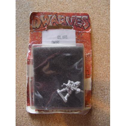 Dwarf (blister figurine Dwarves de Ral Partha) 001
