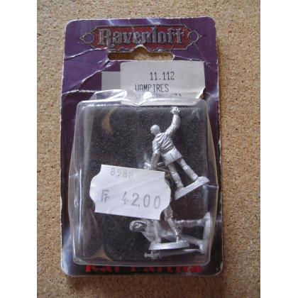 Vampires Hunters (blister figurines AD&D Miniatures Ravenloft de Ral Partha) 001