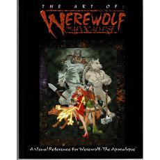 The Art of Werewolf The Apocalypse (artbook jdr Loup-Garou L'Apocalypse en VO)