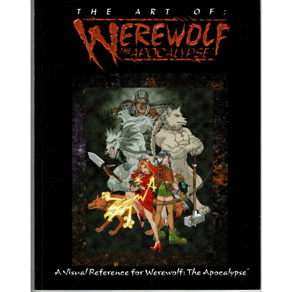 The Art of Werewolf The Apocalypse (artbook jdr Loup-Garou L'Apocalypse en VO) 001